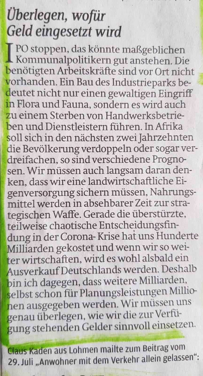IPOstoppen - Zeitung 11